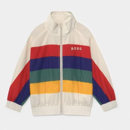 Multicolor Tracksuit Jacket