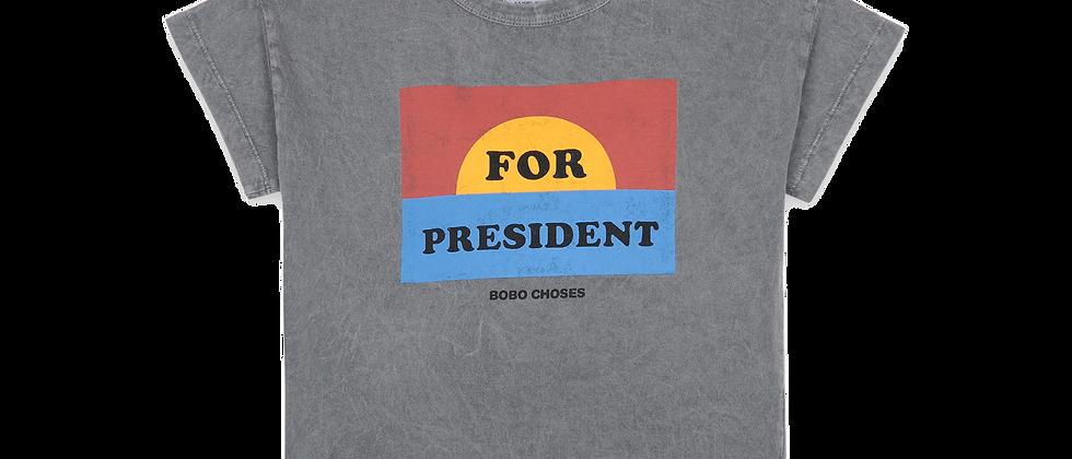 Bobo Choses  - For President Short Sleeve T-Shirt