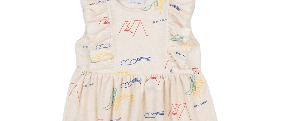 Bobo Choses - Playground All Over Ruffle Top