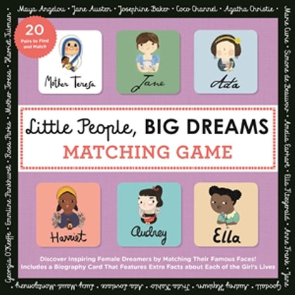 Little People Big Dreams - Matching Game