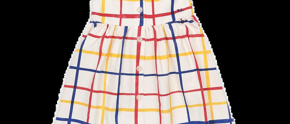 Bobo Choses - Multicolor Checkered Woven Dress