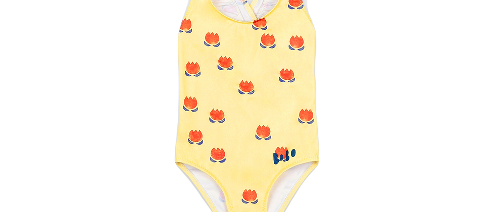 Bobo Choses - Chocolate Flowers All Over Swimsuit
