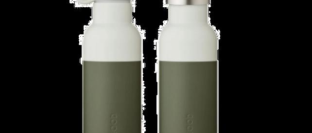 Liewood - Neo Water Bottle Hunter Green/Dove Blue