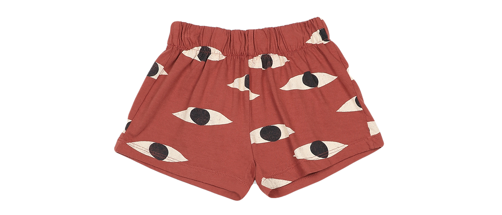 Bobo Choses - Eyes All Over Jersey Shorts