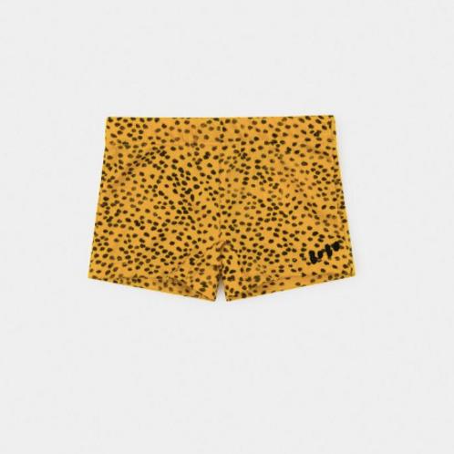 All Over Leopard Print Swim Boxer