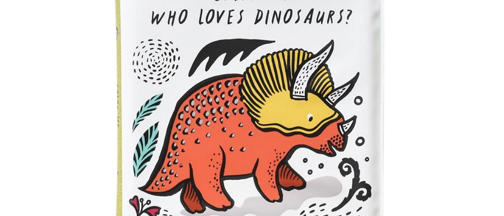 Bath Book - Color Me: Who loves dinosaurs
