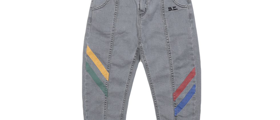 Bobo Choses - Multicolor Denim Trousers