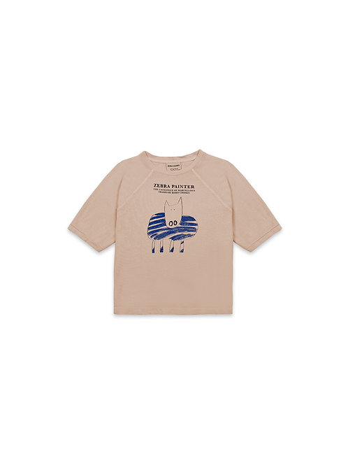 Bobo Choses - Zebra Painter T-shirt