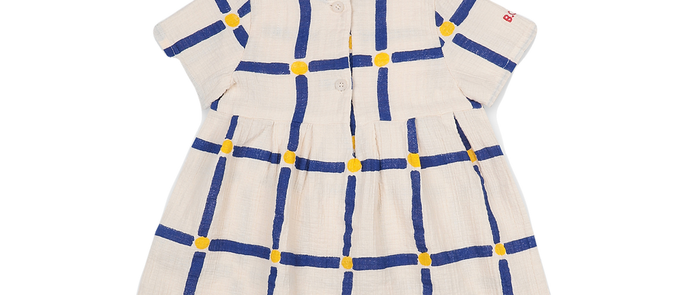 Bobo Choses - Cube All Over Buttoned Dress