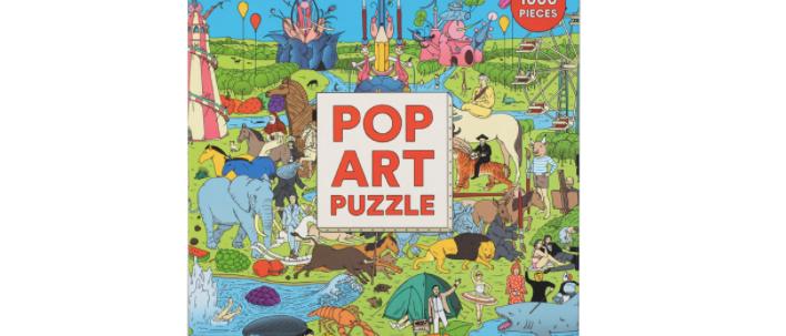 Pop Art Puzzle 1000 pieces