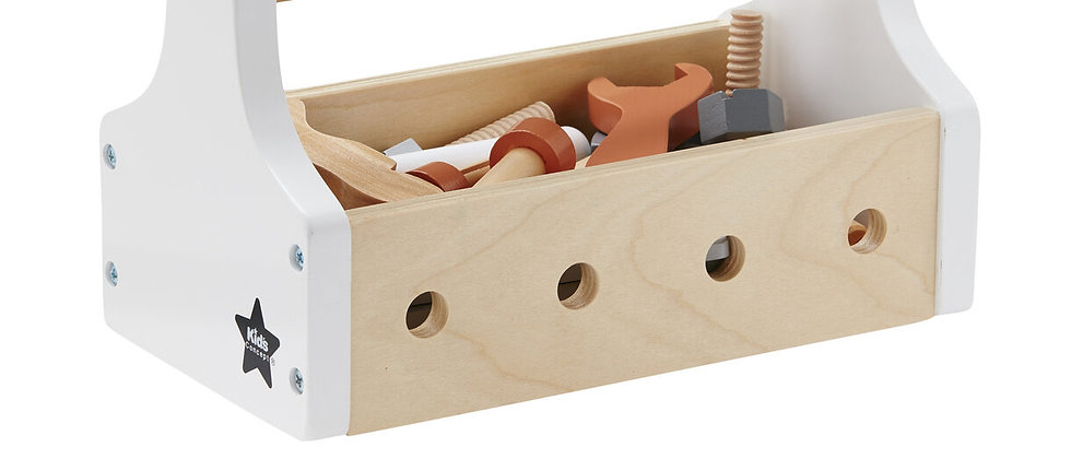 Kids Concept - Toy Tool Kit Natural STAR