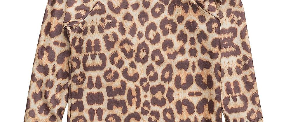 Leopard Swim Blouse