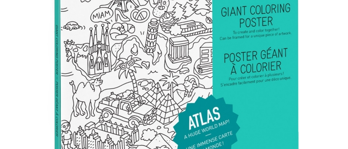 OMY - Coloring Poster ATLAS