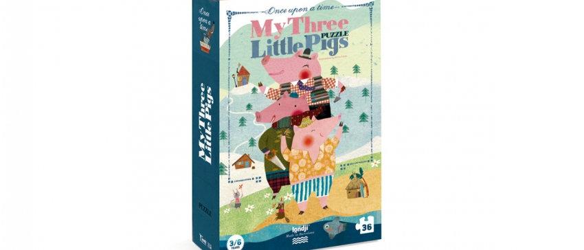 LONDJI - My Three Little Pigs Puzzle