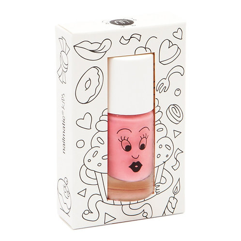 Water-based nail polish for kids - Cookie - pink