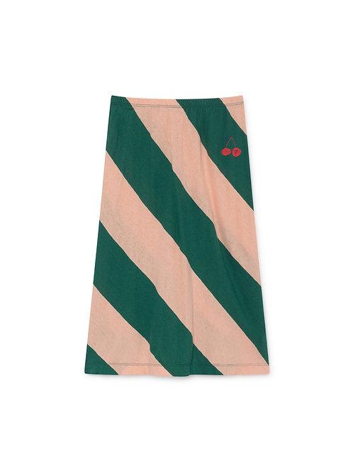 Stripes Midi Skirt