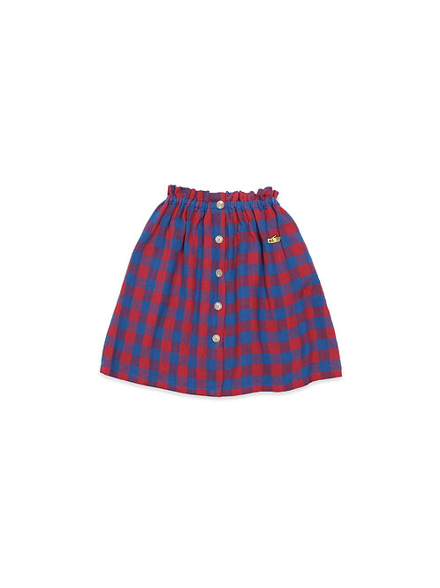 Bobo Choses - Tartan Woven Skirt