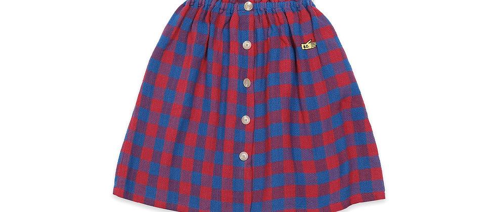 Bobo Choses - Tartan Woven Skirt