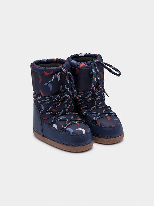 Blue Cosmo Boots