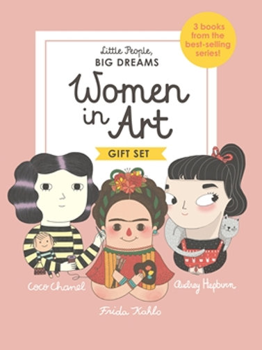 Little People Big Dreams - Women In Art