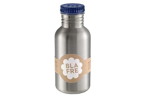 Stainless Steel Water Bottle 500ml Dark Blue