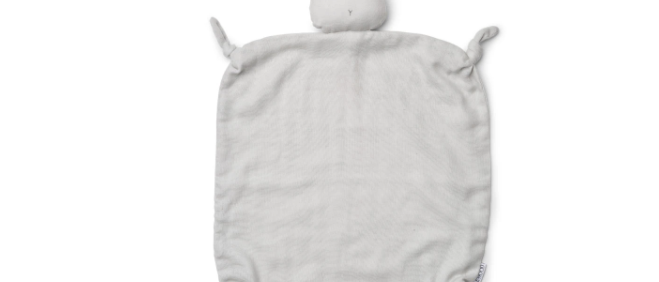 Liewood - Agnete Cuddle Cloth - Rabbit dumbo grey