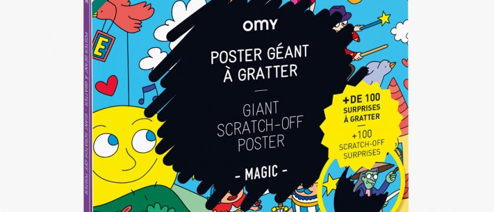Giant Scratch Off Poster