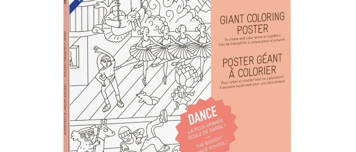 OMY - Coloring Poster DANCE
