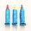 Thumbnail: Kitpas - set of 3 colour markers for bath - red, yellow, dark grey