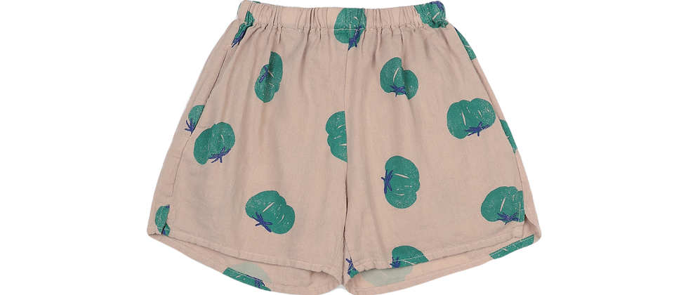Bobo Choses - Tomatoes All Over Woven Shorts