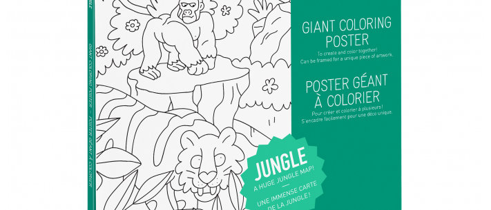 OMY - Coloring Poster DINOS