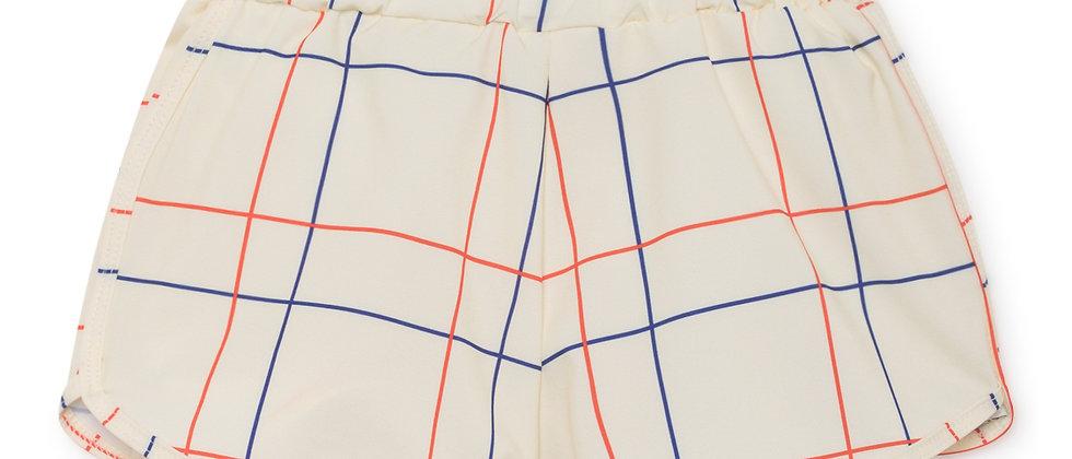 Swim Shorts Lines Print