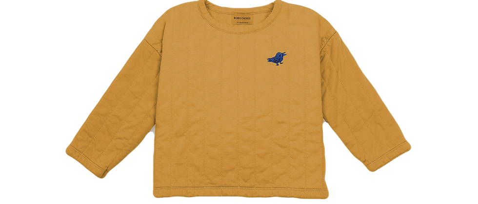 Bobo Choses - Bird Tuner Quilted Sweatshirt