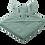 Thumbnail: Liewood - Augusta Hooded Junior Towel - Rabbit Peppermint