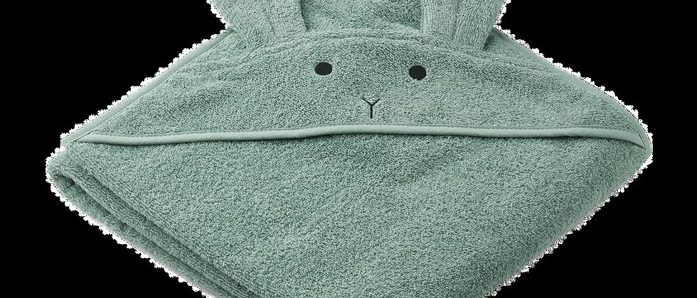 Liewood - Augusta Hooded Junior Towel - Rabbit Peppermint