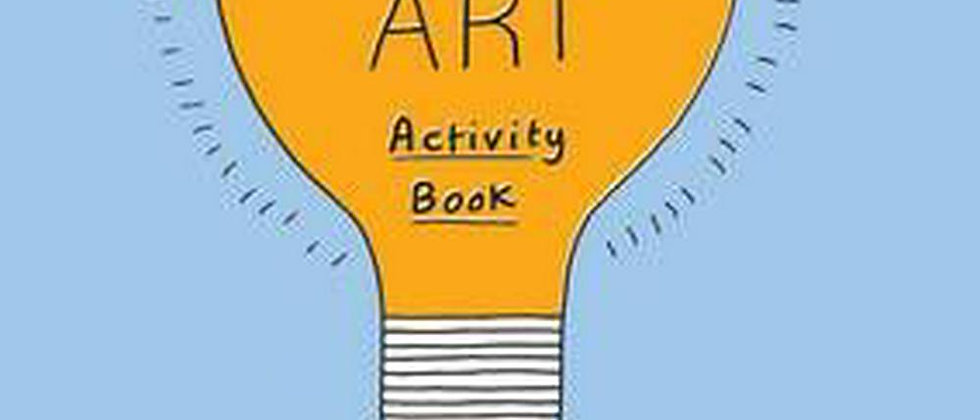Modern Art Kids Activity Book