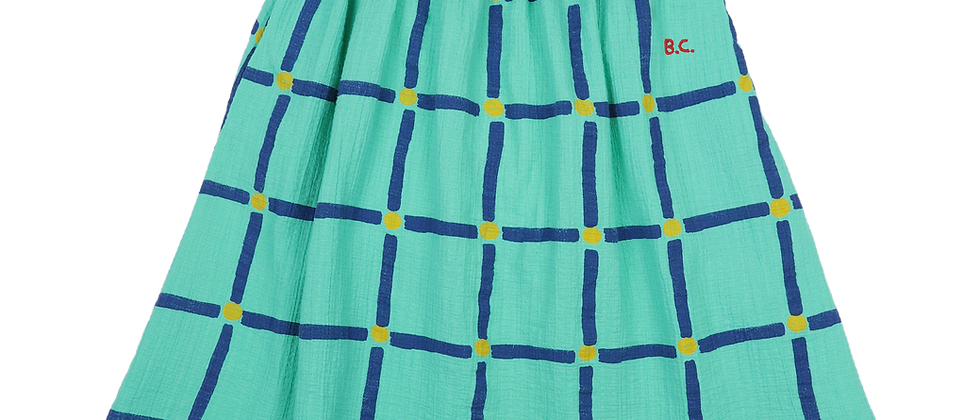 Bobo Choses - Cube All Over Woven Midi Skirt