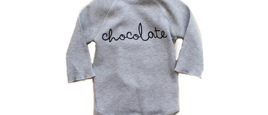 Organic Zoo - Grey Chocolate Bodsysuit