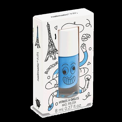 Water-based nail polish for kids - Gaston - sky blue