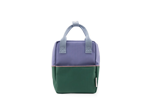 Small Backpack Colourblocking - Moustafa Purple