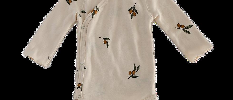 Organic Zoo - Olive Garden Wrap Bodysuit