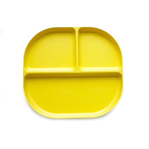 Bambino Divided Tray Lemon