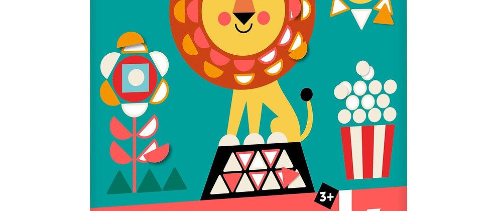 Sticker Mosaic - Circus