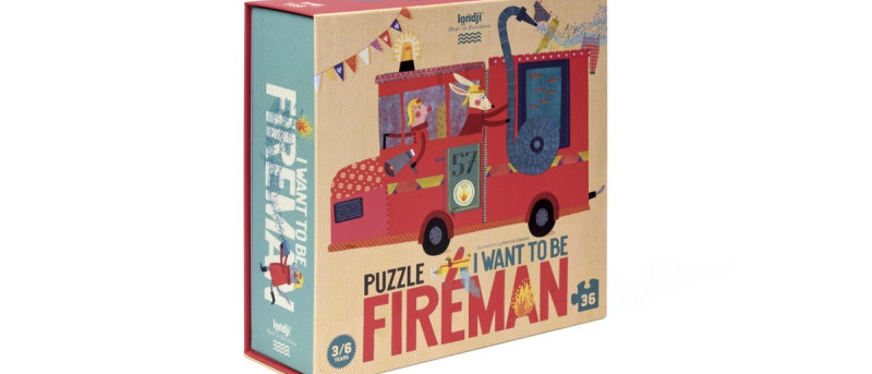 Londi - I Want To Be A Fireman Puzzle