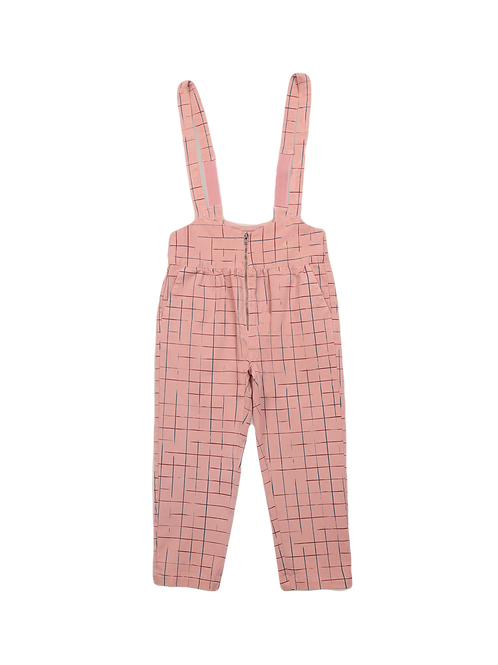 Bobo Choses-Grid Braces Pants