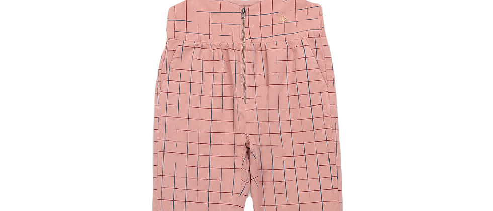 Bobo Choses - Grid Braces Pants
