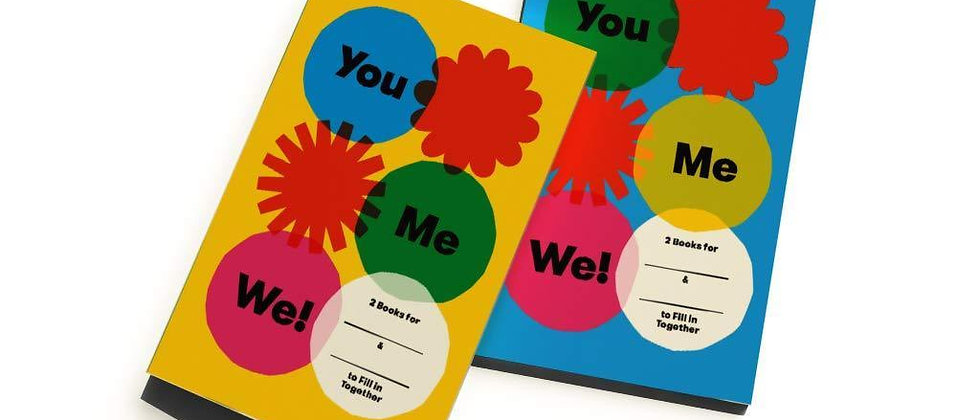 You, Me, We! (Set of 2 fill in Books)