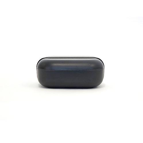 Square Bento Lunch Box Black