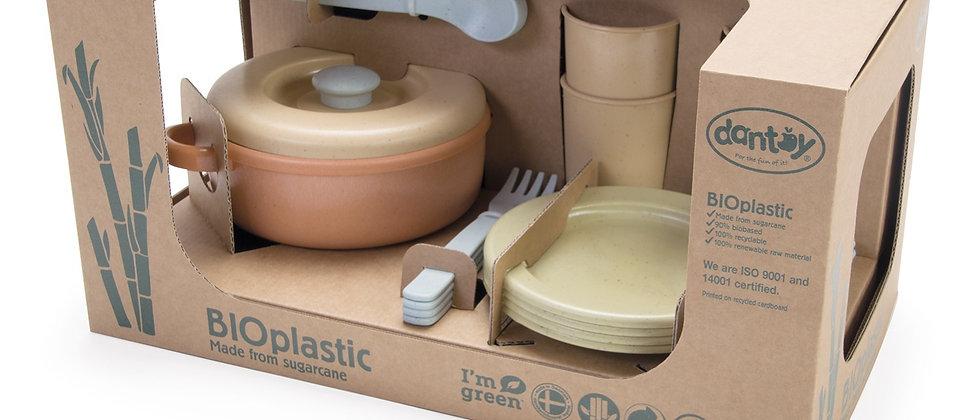 Dantoy Bioplastic dinnerware set - Set of 22
