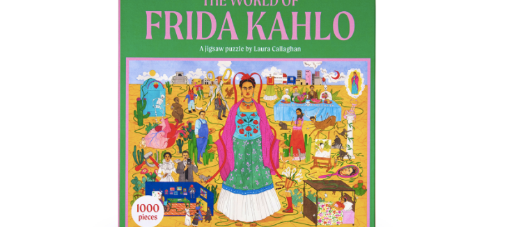 The World Of Frida Kahlo A Jigsaw Puzzle 1000pieces